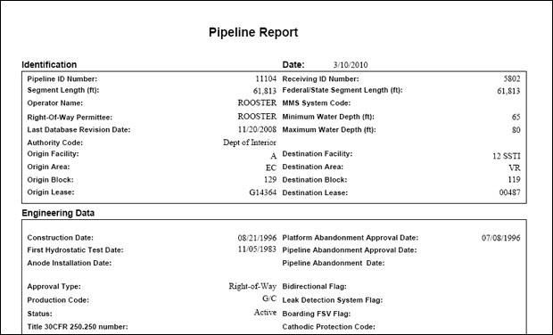 Pipeline Report Pipeline Report Standard